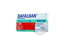 DAFALGAN 300 mg Suppositoire (Plaquette de 10)