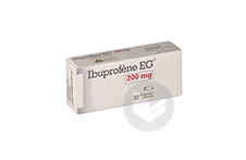 IBUPROFENE EG 200 mg Comprimé pelliculé (Plaquette de 30)