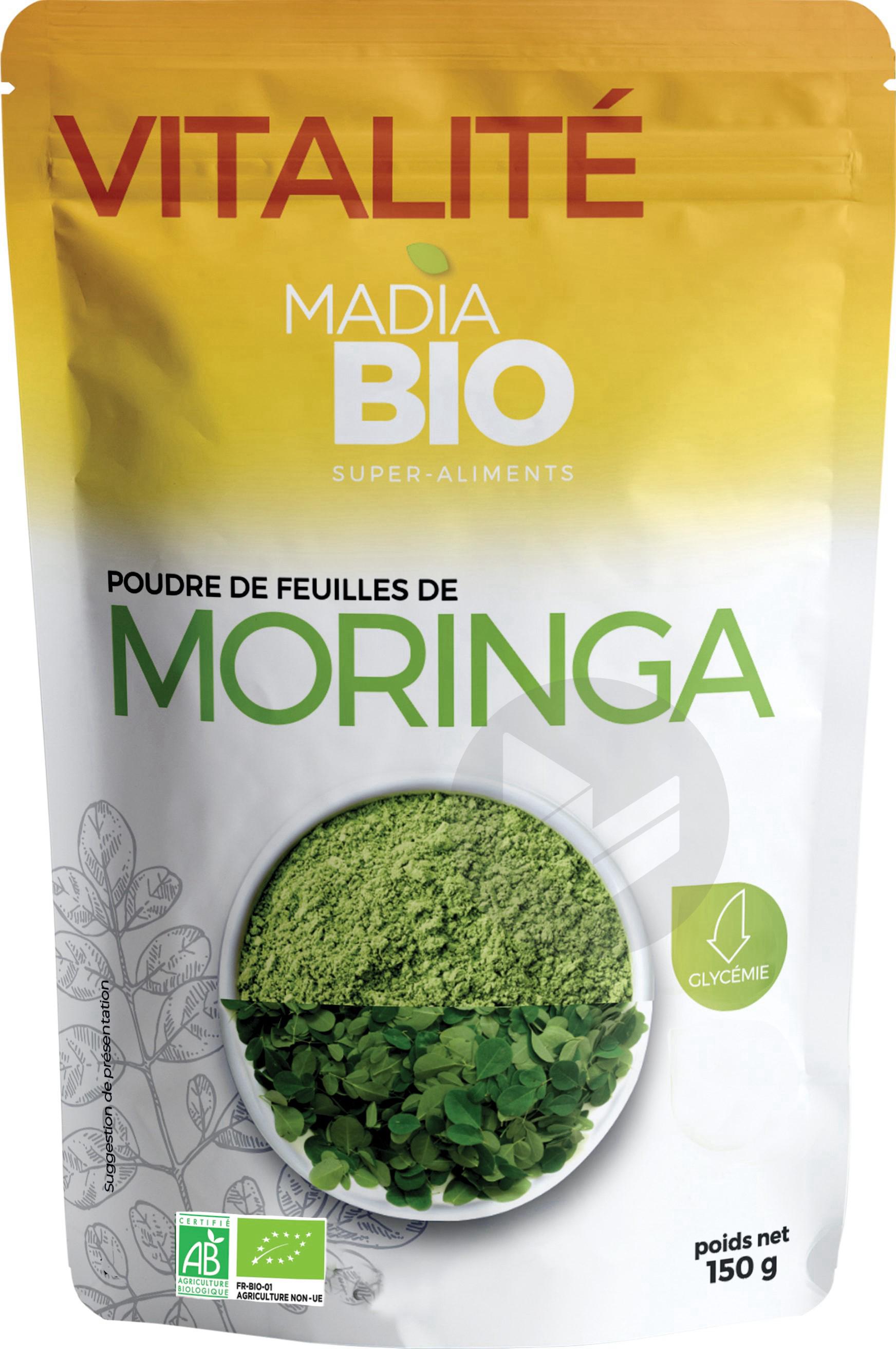 Madia Bio Poudre De Moringa