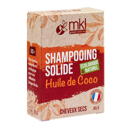 Shampooing solide huile de coco