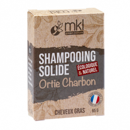 Shampooing solide ortie