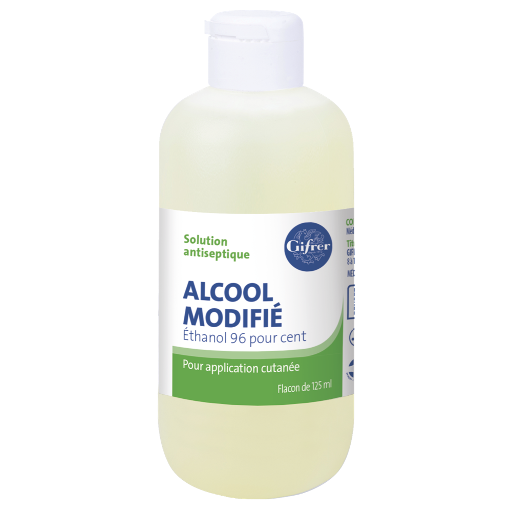Alcool Modifie 125 Ml
