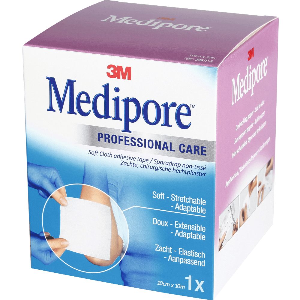 Medipore Liner Sparadrap 10 Cmx 10 M Rouleau
