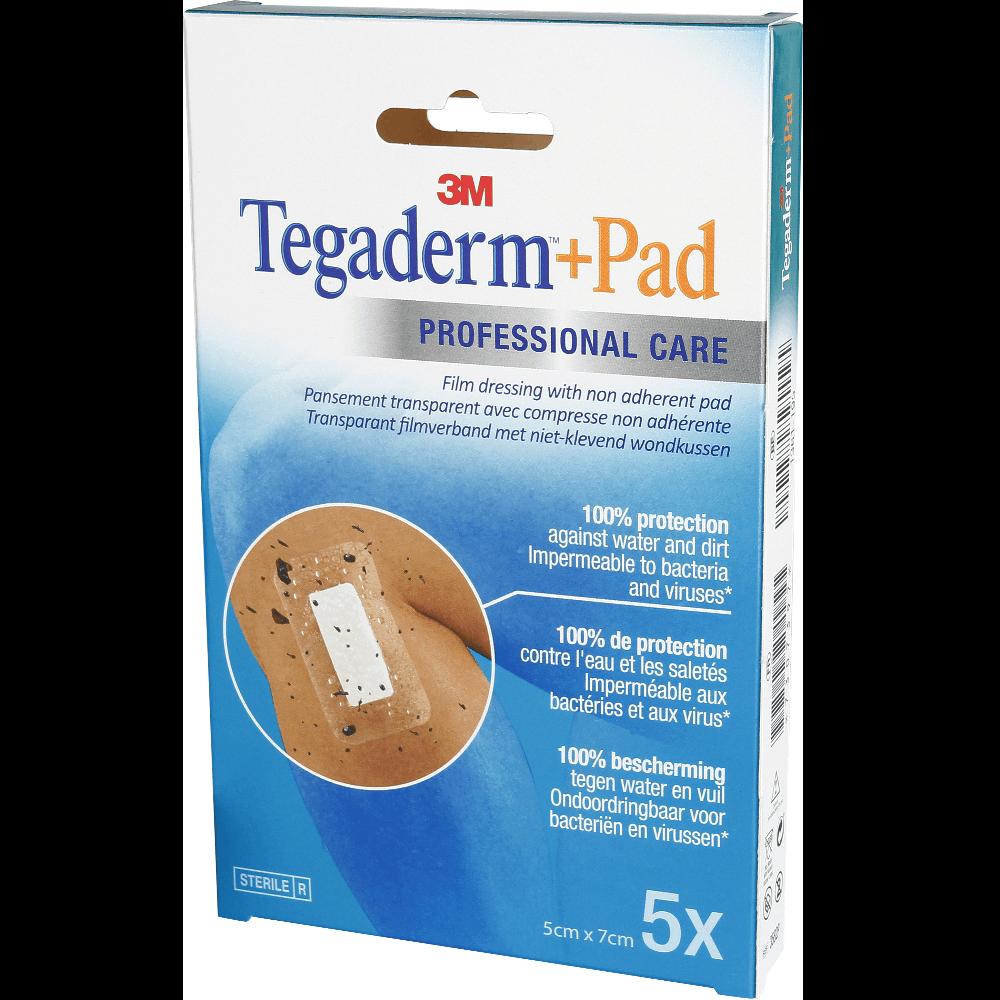 TEGADERM + PAD PANSADH 5X7CM 5