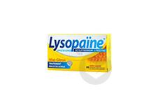 Lysopaine Cetylpyridinium Lysozyme Comprime A Sucer Maux De Gorge Miel Citron Sans Sucre Edulcore Au Sorbitol Et A La Saccharine 2 Tubes De 18