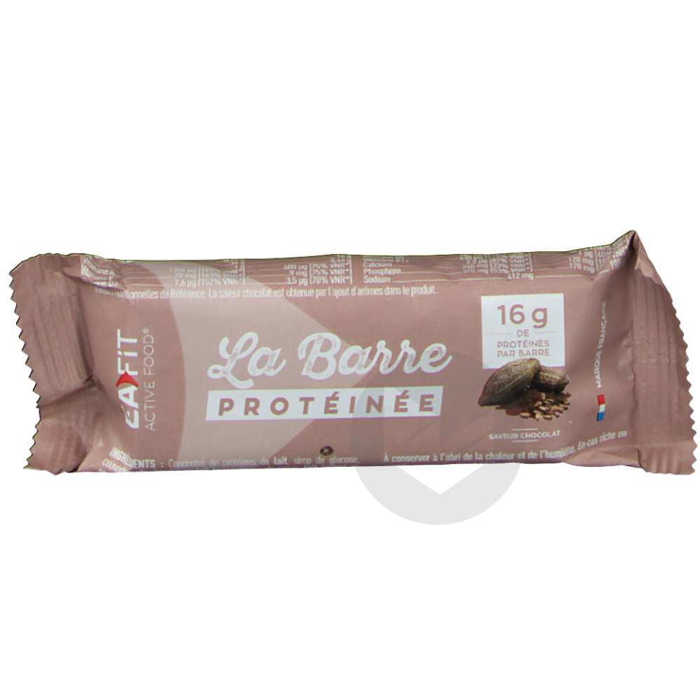 Barre Proteinee Chocolat 46 G