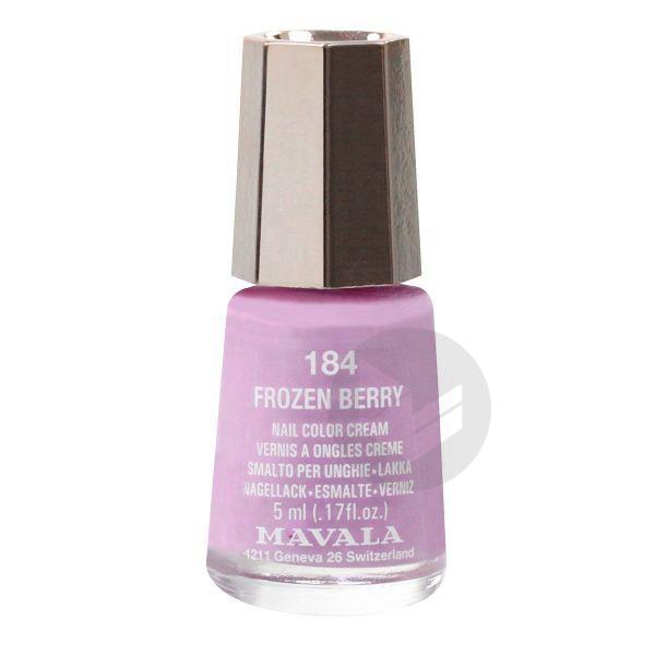 MAVALA V ongles frozen berry mini Fl/5ml