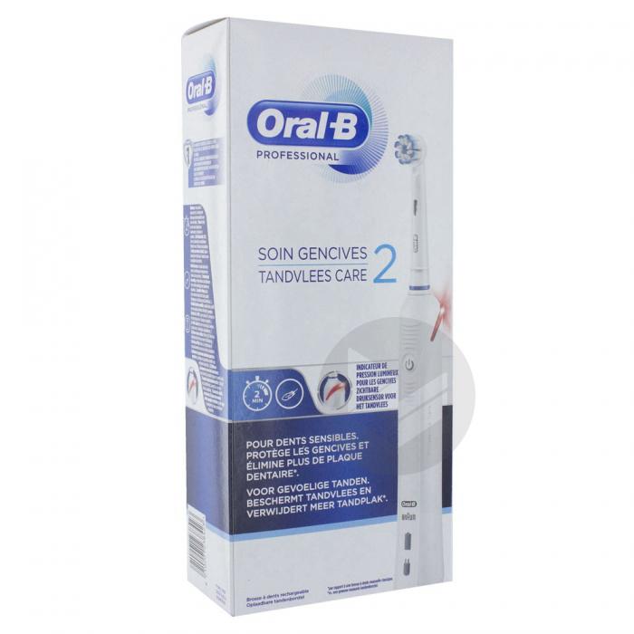 Oral B Professional Brosse A Dents Electrique Soin Gencives 2