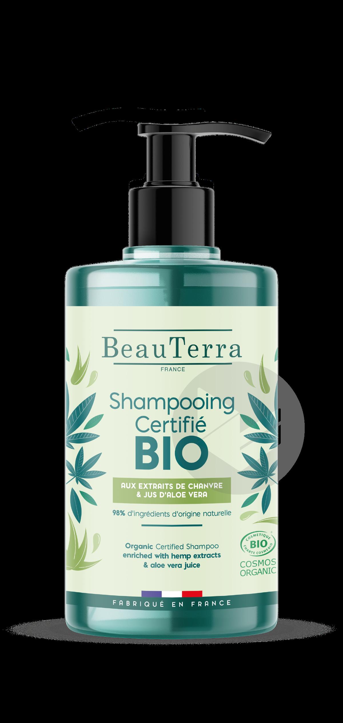 Shampooing bio Chanvre & Aloe - 750 ml