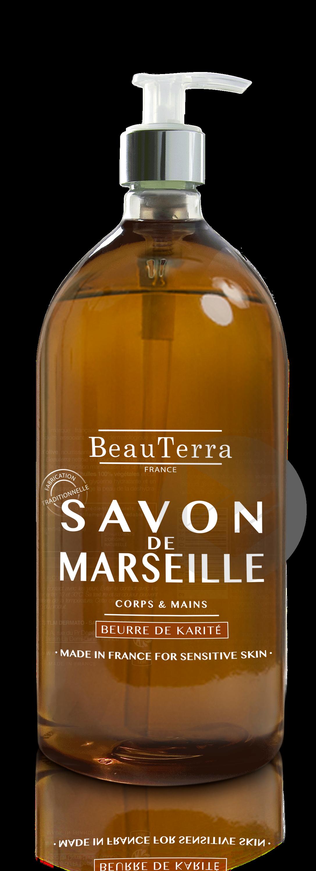 Savon De Marseille Liquide Beurre De Karite 300 Ml