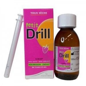 Petit Drill Sirop Nourrisson Fraise Fl 125 Ml Pipette