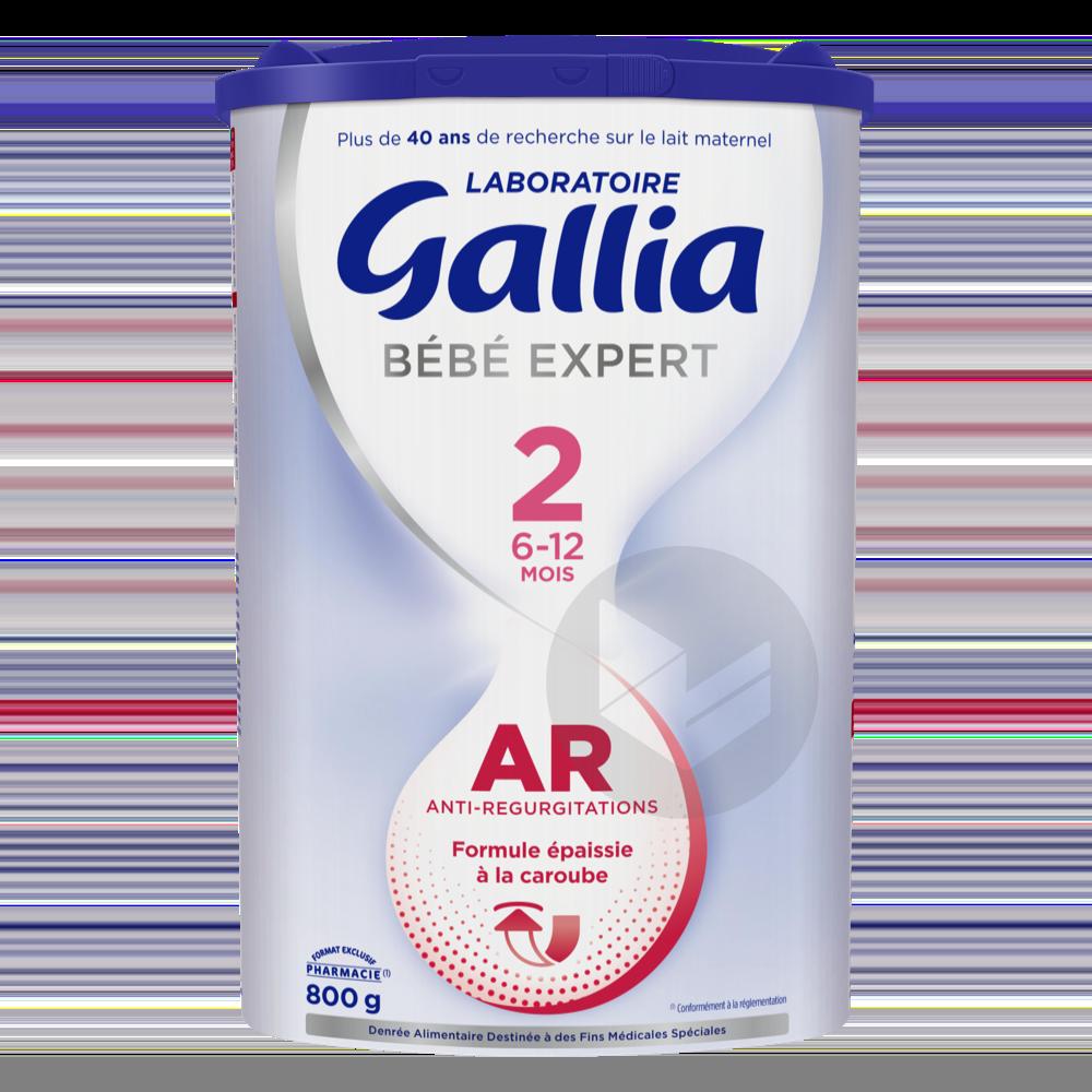 Gallia Bébé Expert AR 2ème âge 800g