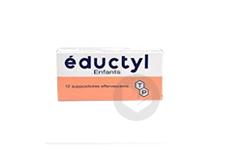 EDUCTYL Suppositoire enfant (Plaquette de 12)