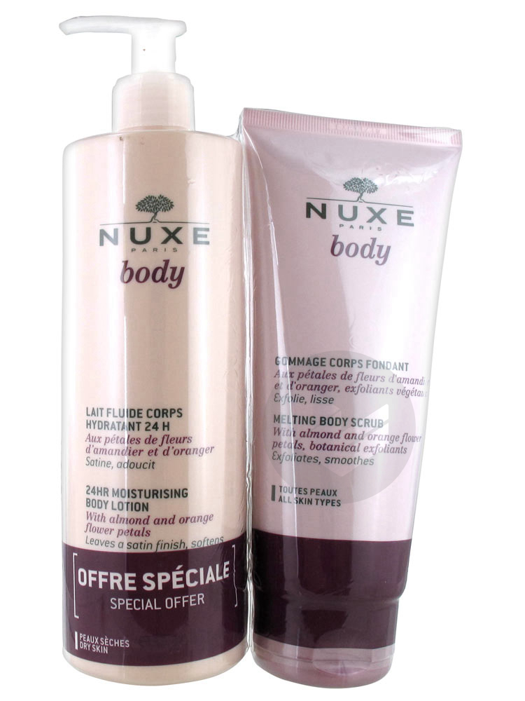 NUXE BODY LAIT CORPS HYDR400ML+