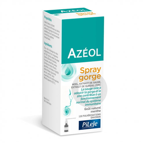 Azeol Spray Gorge Fl 15 Ml