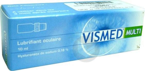 VISMED MULTI S oculaire stérile lubrifiante Fl/10ml