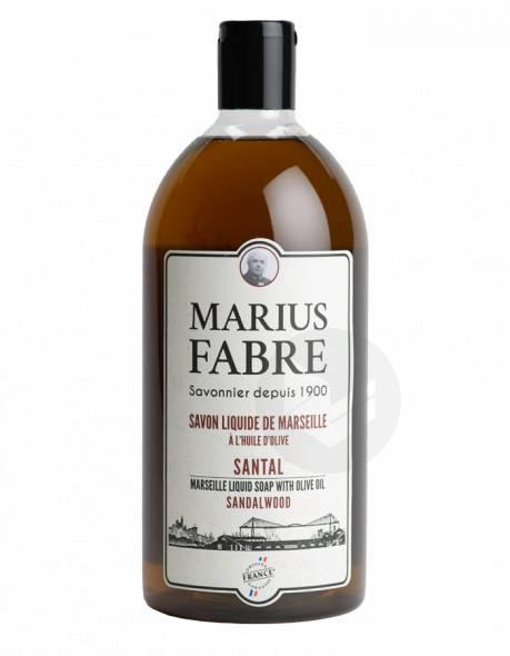 Savon liquide de Marseille A l'huile d'Olive Santal 400ml