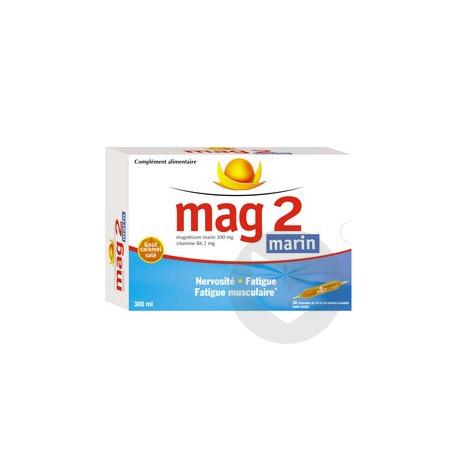 Mag 2 Marin 30 Ampoules De 10 Ml