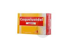 COQUELUSEDAL Suppositoire adulte (Plaquette de 10)