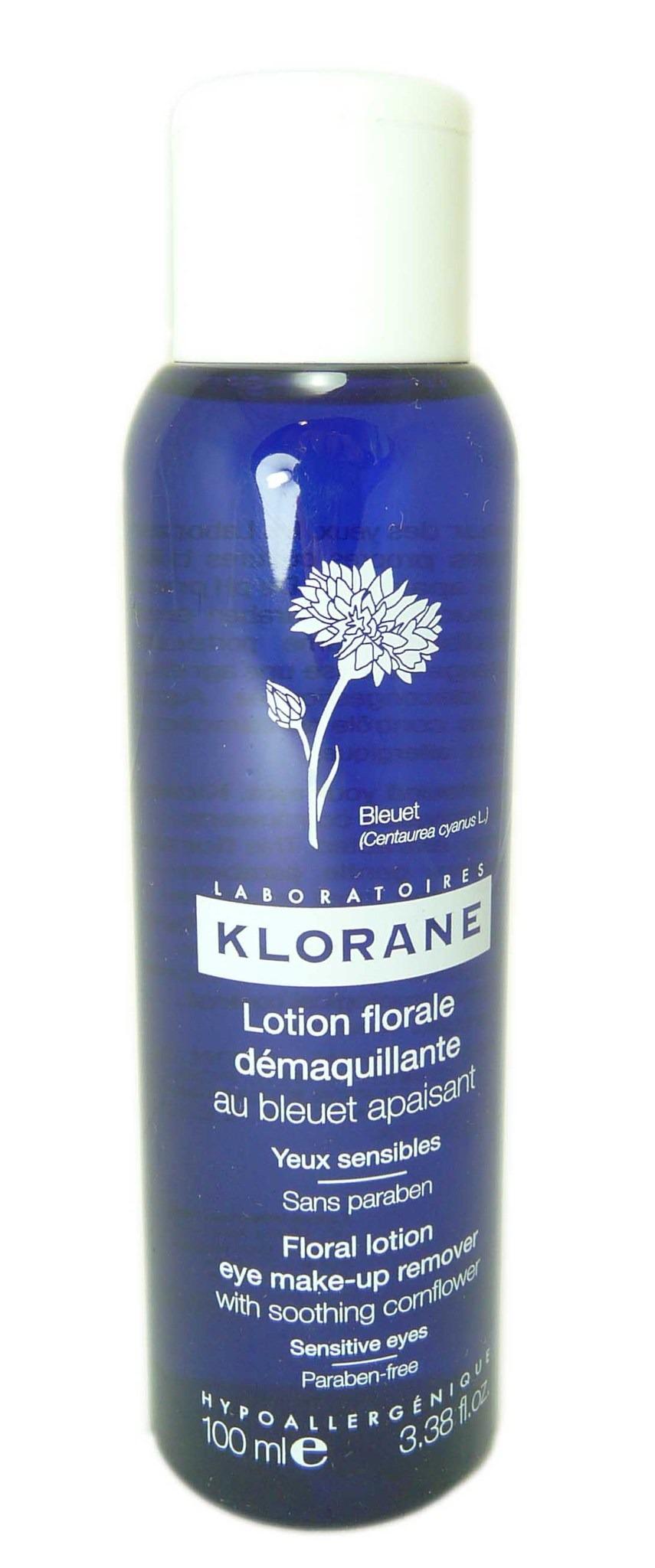 KLORANE SOINS DES YEUX AU BLEUET Lot florale démaquillante Fl/100ml