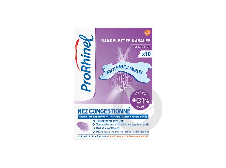 Bandelette Nasale Transparente B 10