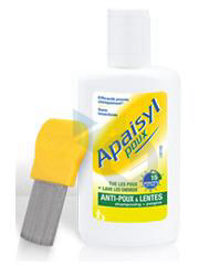 Poux Shampooing Antipoux Et Lente Fl 200 Ml Peigne