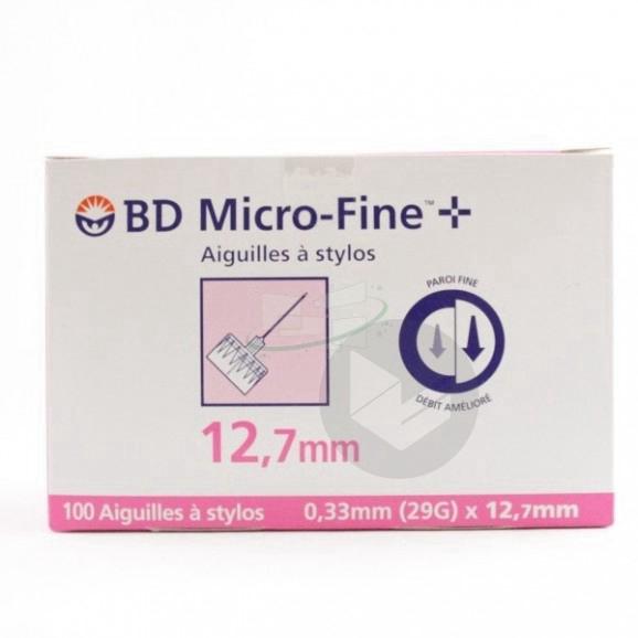 Bd Micro Fine Aiguille Pour Stylo Injecteur 0 33 X 12 7 Mm B 100
