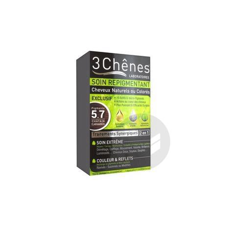Repigmentant Kit Cheveux Naturels Ou Colores 5 7 Pigments Chatain Clair Marron
