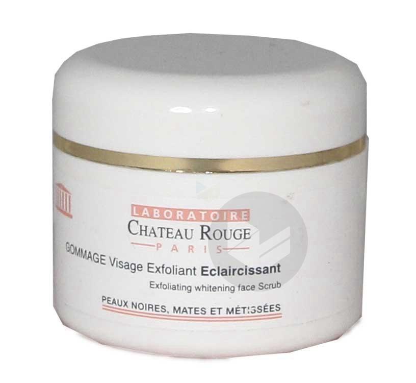 CHATEAU ROUGE Cr gommage éclaircissant visage Pot/50ml