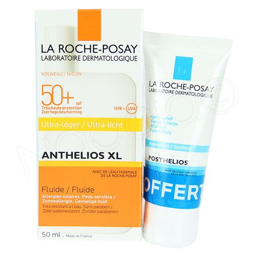 ANTHELIOS XL SPF50+ Fluide ultra-léger avec parfum T/50ml+mini Posthelios
