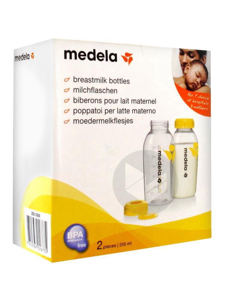 MEDELA Biberon conservation du lait maternel 250ml B/2