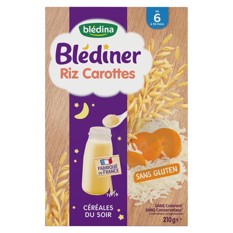 Blédiner Riz Carottes
