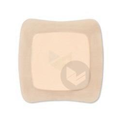 AQUACEL FOAM Pans hydrocellulaire adhésif stérile 12,5x12,5cm B/16
