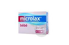 MICROLAX BEBE SORBITOL CITRATE ET LAURILSULFOACETATE DE SODIUM Solution rect en récipient unidose (4récipients unidose de 3ml)