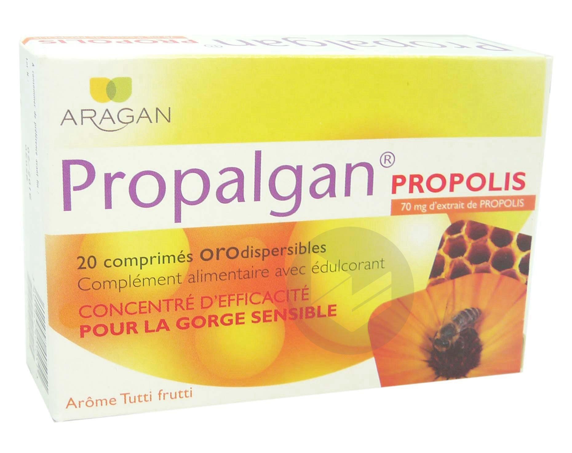 Propalgan Cpr Orodisp Adulte B 20