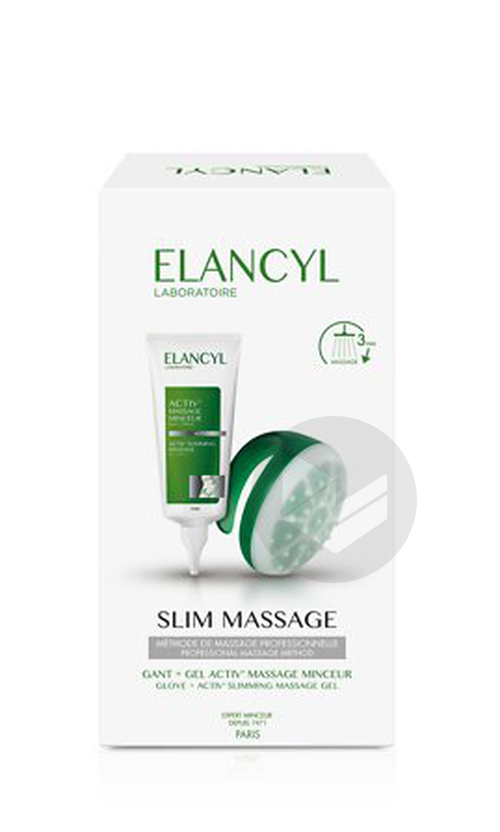 Slim Massage Coffret Gant Gel 200 Ml
