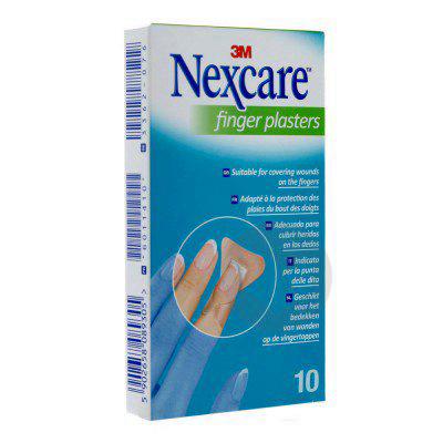 Nexcare Finger Plaster Pans Papillon Doigt B 10