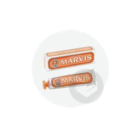 MARVIS ORANGE Pâte dentifrice menthe gingembre T/25ml