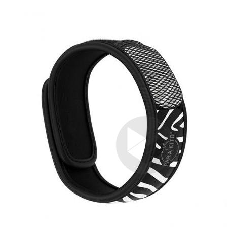 Parakito Bracelet Anti Moustiques Zebra