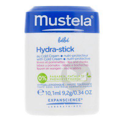 MUSTELA BEBE ENFANT Stick hydra cold cream nutri-protecteur 9,2g