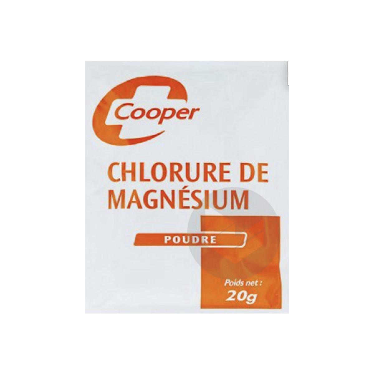 Chlorure De Magnesium 50 X 20 G