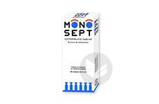 MONOSEPT 0,25 pour mille (0,1 mg/0,4 ml) Collyre (30 récipients unidoses)