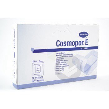 Cosmopor E Steril Pans Adhesif Sterile Avec Compresse 9 X 15 Cm B 10