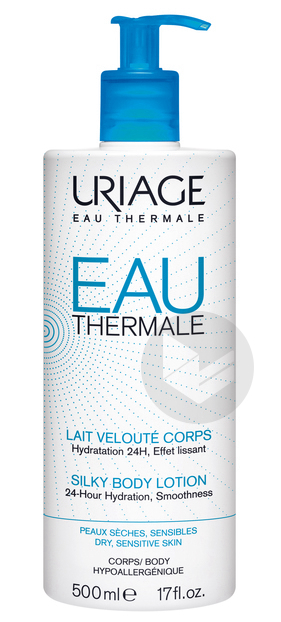 Eau Thermale Lait Veloute Corps 500 Ml