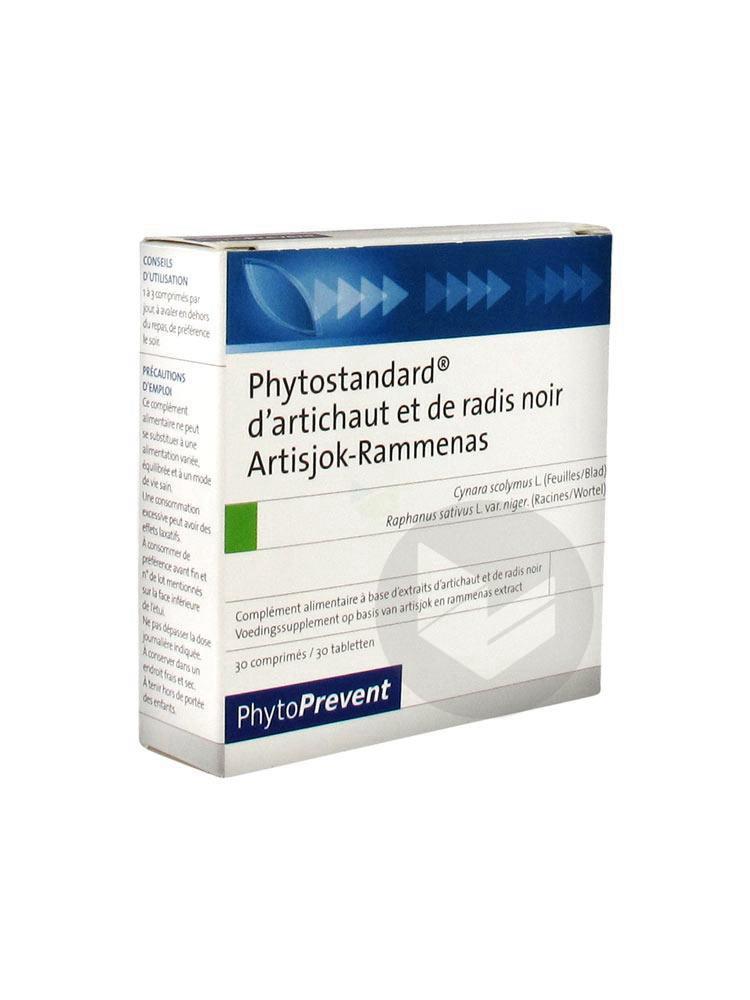 Phytostandard Artichaut Radis Noir Cpr B 30