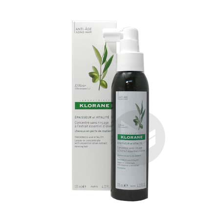 Capillaire Concentre Olivier Sans Rincage Spray 125 Ml