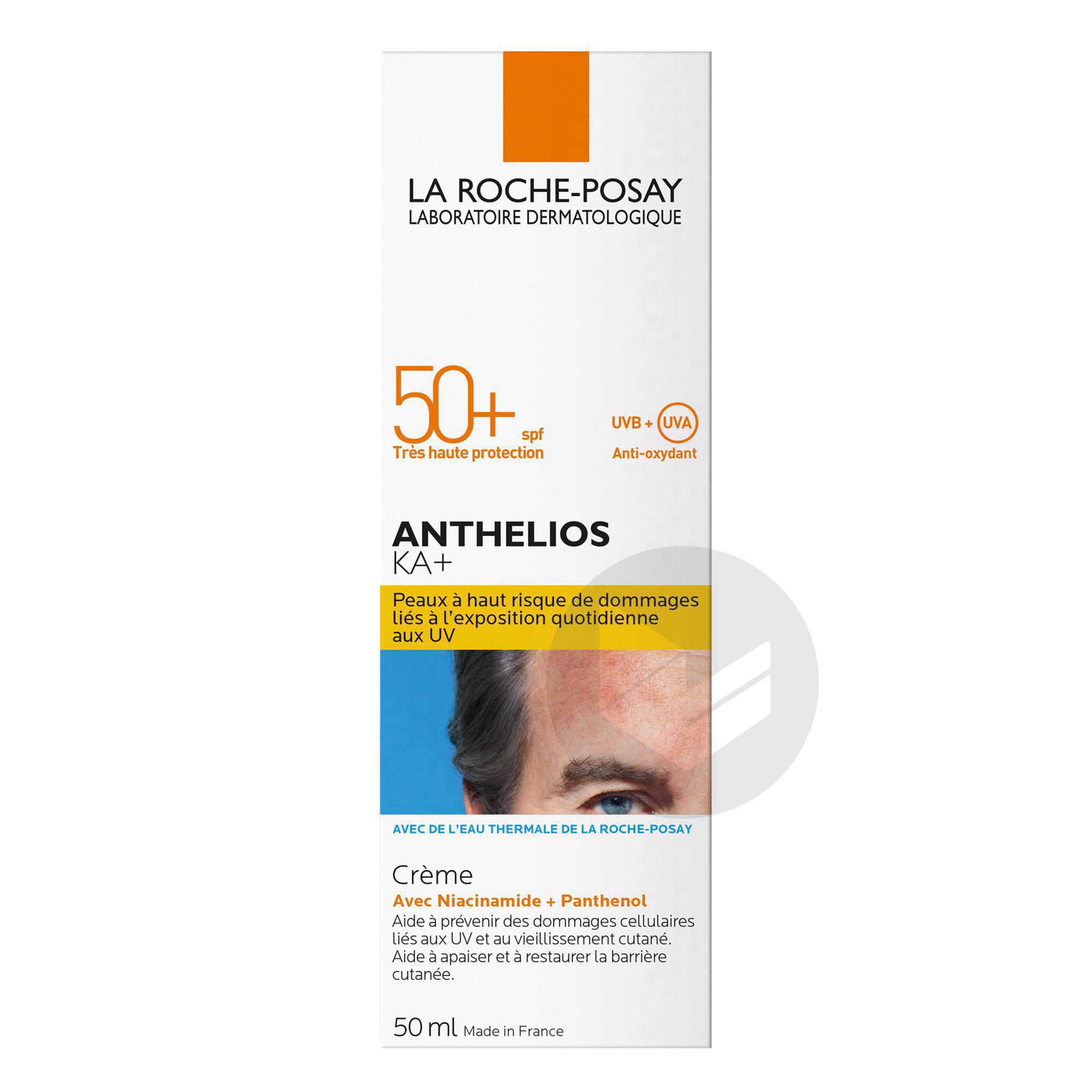 Anthelios Creme Solaire Ka Visage Spf 50 Sans Parfum 50 Ml