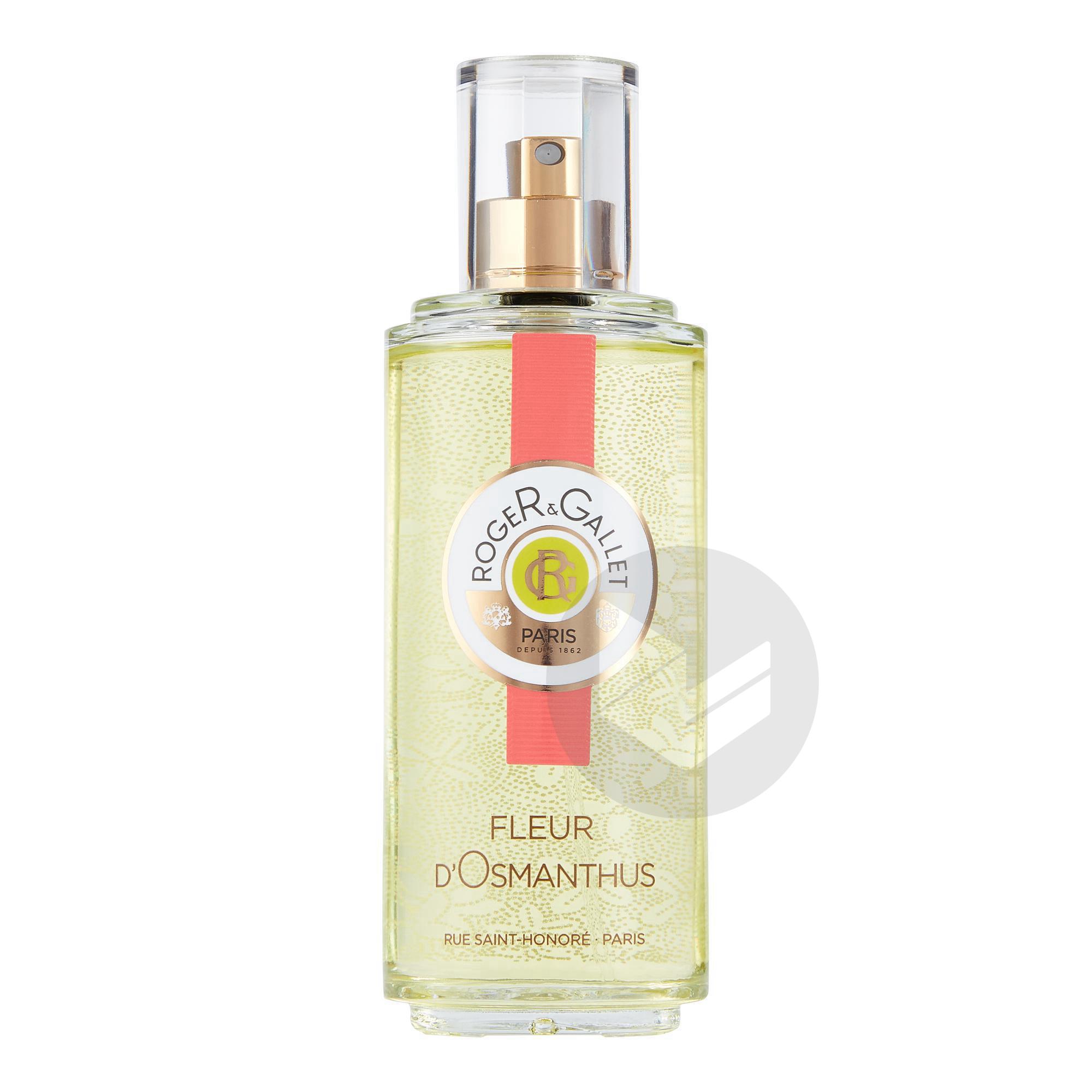 Fleur D Osmanthus Eau Fraiche Parfumee Bienfaisante Vaporisateur 100 Ml