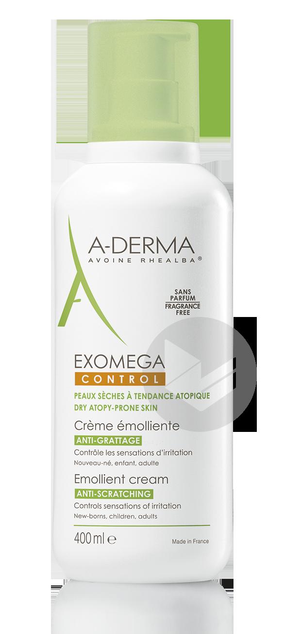 A Derma Exomega Control Creme Emolliente 400 Ml