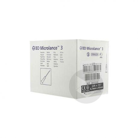 Bd Microlance Noir 40 7 10 G 22 1 1 2
